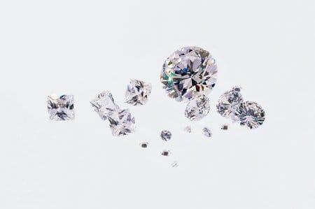 Diamanten im Handel